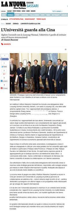 La Nuova Sardegna, 28 ottobre 2015 #docentiAaA #martinomarini