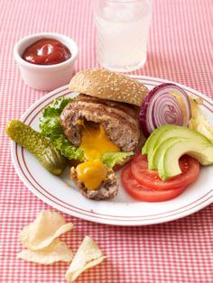 Comfort food recipes: Inside-Out Turkey Cheeseburgers