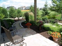 Steps, flagstone path and gardens - Deb Knecht - Picasa Web Albums