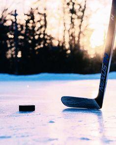 goal: take pond hockey pics