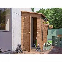 The Anya pent shed is perfect for small or narrow spaces. It attaches to an existing wall, and so can fit nicely into smaller gardens or patios. Mini Shed, Shed Frame, Shiplap Cladding, Timber Logs, Lean To Shed, Pressure Treated Timber, Small Sheds, Wooden Sheds, Shed Storage