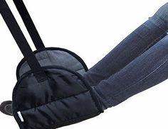 cstom portable footrest flight carryon foot rest travel pillows leg hammock this footrest has