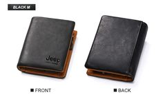 Jeep Luxury Cow Leather RFID Men Wallet   Kavi`s Fashion – Kavis Wallets