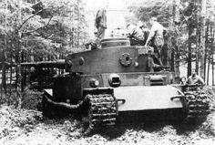 VK 45.01 (P) - Tiger proposed by Porsche during terrain trials