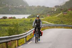 Bike across Norway with Darren And Katelyn as they spend six days participating in the Berg Fritid Fjord Cycling Route Bike Tour in beautiful fjord Norway.