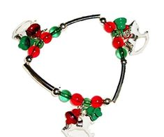 Christmas Stretch Charm Bracelet G10 Red Green White Recy... https://www.amazon.com/dp/B00Y762T4I/ref=cm_sw_r_pi_dp_x_IzLrybTPVP60F