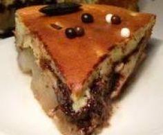 Gâteau mousseux mascarpone-amande aux poires et aux pépites de chocolat