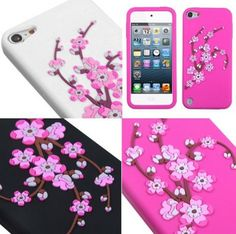 iPod Touch 5 - Cherry Blossoms Blooming Madly Case in Assorted Colors