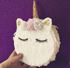 Unicorn Pinata Unicorn Macaron von withglitternconfetti auf Etsy