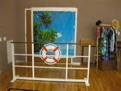 Love Boat Theme Party: A Rehearsal Backdrop/props for photo booth Cruise Theme Parties, Cruise Ship Party, Themed Parties, Titanic, Bon Voyage Party, Boat Theme, Dance Themes, Mickey Mouse, Nautical Party