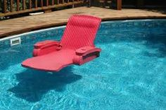 Function: Chair For The Pool Aest: Waterproof Looking Chair For Sit/Laying In the pool Like: Basic idea and plainess, easily tuned up and building on Dislike: Not much really
