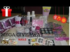 Mega Giveaway Nails - YouTube
