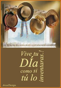 〽️ Vive tu Día como si tu lo inventaras !!