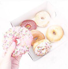 Cute • donut • dessert • girly • pastels • sprinkles  ♡@lozzyprincess♡
