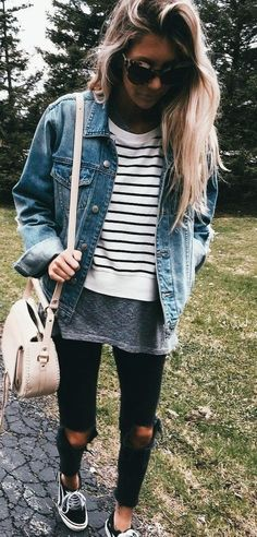 Cute Outfits Ideas To Wear During Spring 23