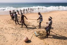 Fishing lines Photo by Marco Tagliarino — National Geographic Your Shot