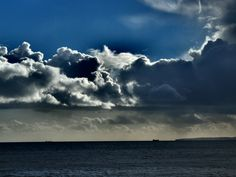 Budleigh Salterton - High Contrast Clouds