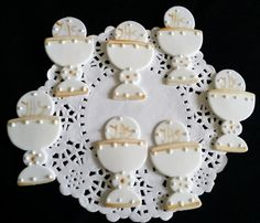Chalice Cupcake Toppers Communion Chalice by PartyFavorsMiami