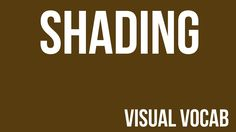 Shading defined - From Goodbye-Art Academy