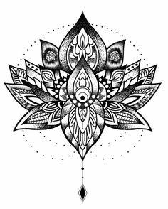 Tattoo tattoos, mandala tattoo ve tattoo drawings. Tattoo Knee, Tattoo Calf, Tattoo Henna, Lotus Tattoo, Lotus Flower Tattoos, Up Tattoos, Foot Tattoos, Tattoo Drawings, Body Art Tattoos