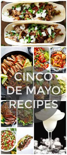 Cinco De Mayo Recipes It's that time of the year again! We have an excuse to drink Margaritas and eat guac all day with these Cinco de Mayo recipes! With Cinco De Mayo around the corner, Bbq Pitmasters, Mexican Dishes, Mexican Food Recipes, Ethnic Recipes, Mexican Cooking, Mexican Desserts, Party Food Platters, Food Dishes, Main Dishes