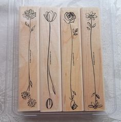 Stampin Up stamp set - Both Ways Blossoms