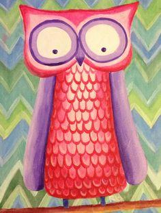 'Stella's Owl' by Bec Bennett