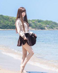 ▷ - kuro - model 寧々 photo by kuro Japanese School Uniform Girl, School Girl Japan, School Girl Outfit, Japan Girl, Beautiful Japanese Girl, Beautiful Asian Girls, Cute Asian Girls, Cute Girls, Japonese Girl