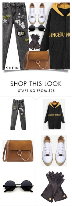 """""""shein 10"""" by amrafashion ❤ liked on Polyvore featuring WithChic and Cornelia James"""