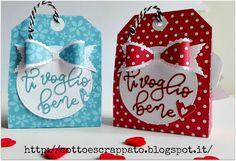 Cotto e Scrappato: Valentine Treat Boxes
