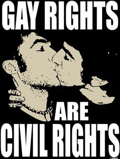 #Gay rights are CIVIL rights!  One Message...Your Voice.