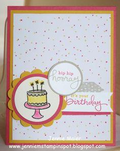 Endless Birthday Wishes #stampinupendlessbirthdaywishes, #masculinebirthdaycard