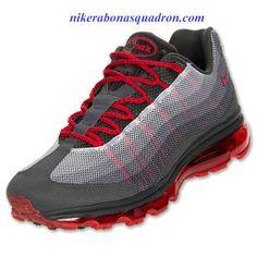 best service 1b589 eca9d Nike Air Max 95 Dynamic Flywire Mens Anthracite Dark Grey Cool Grey 554715  060 Kicks Shoes