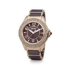 Glow watch discovered on Fantasy Shopper Watch Model, Michael Kors Watch, Gold Watch, Rolex Watches, Rose Gold, Glow, Ceramics, Style Inspiration, Stuff To Buy