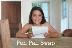 Pen Pal Swap on The Magic Onions : Find a pen pal for your child - www.theMagicOnions.com