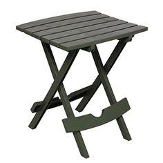 Adams Quick Fold Side Table Sage 8500-01-3731
