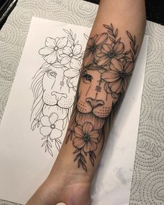 Learn more about tattoo styles and the work of Claudemberg Gouveia - dinho_tattoo (Tattoo artist). Forarm Tattoos, Girl Arm Tattoos, Dope Tattoos, Pretty Tattoos, Leo Tattoos, Bodysuit Tattoos, Tatoos, Arm Sleeve Tattoos For Women, Best Sleeve Tattoos
