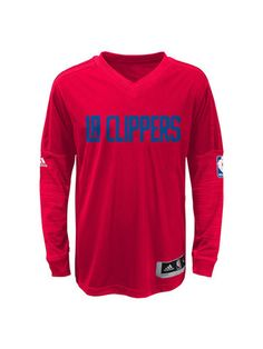 ed125df4d84 Los Angeles Clippers Authentic On Court Long Sleeve Shooter Los Angeles  Clippers