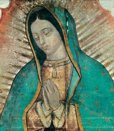 Original image of Our Lady of Guadalupe