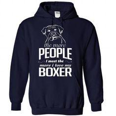 I Love Boxer Dog Shirts Shirts & Tees