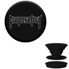 The latest must have mobile phone accessory just got better! This black pop socket is customised with a vinyl Purpose Tour Decal.