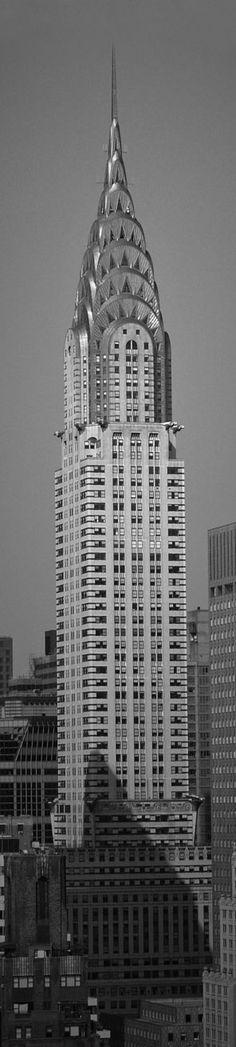 Chrysler Building, 1930. Art Deco Style. Manhattan, New York. Architect William Van Alen