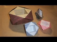 ▶ Origami Bowl by Philip Shen - YouTube