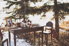 Named one of Canada's top 30 inspiring wedding photographers. Winter Wedding Inspiration, Engagement Inspiration, Park Weddings, Wedding Events, Fish Creek Park, Christmas Engagement, Wedding Centerpieces, Centrepieces, Winter Wedding Flowers