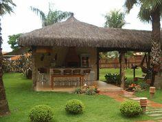 Pergola Attached To House Plans Gazebo, Backyard Layout, Outside Bars, Backyard Pavilion, Bamboo Architecture, Rest House, Wood Pergola, Tiki Hut, Pergola Attached To House