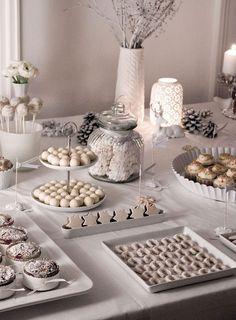 Christmas Decoration: White