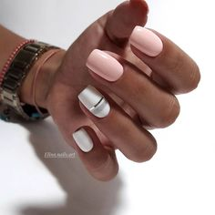 80 Unique Nail Art Designs Ideas to Try Right Now Nude Nails, Nail Manicure, Pink Nails, Gel Nails, Nail Polish, Light Nails, Modern Nails, Cute Acrylic Nails, Stylish Nails