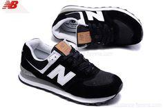 New Balance ML 574 UCO Chaussures Femme Noir Blanc