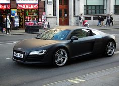 Audi R8 - can I just breathe near it for a second?