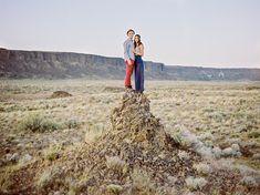 Adventurous Engagement Photos